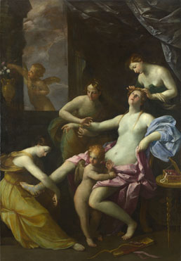 Studio of Guido Reni: 'The Toilet of Venus'