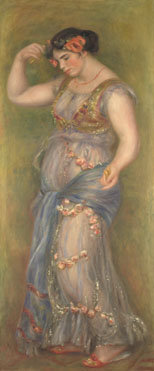 Pierre-Auguste Renoir: 'Dancing Girl with Castanets'