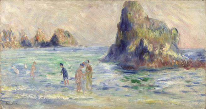 Pierre-Auguste Renoir: 'Moulin Huet Bay, Guernsey'