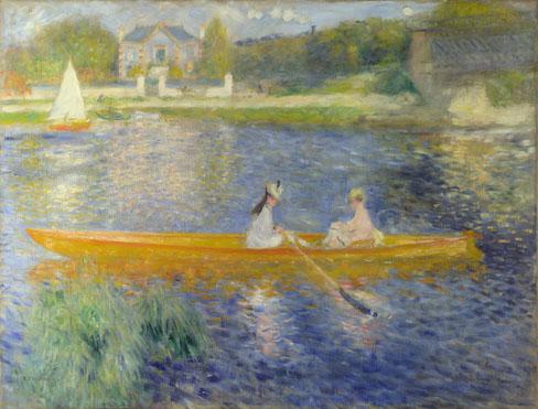 Pierre-Auguste Renoir: 'The Skiff (La Yole)'