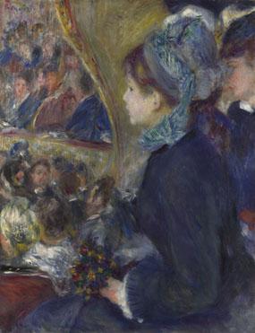 Pierre-Auguste Renoir: 'At the Theatre (La Première Sortie)'