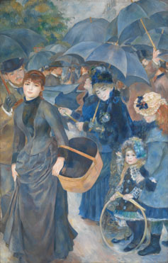 Pierre-Auguste Renoir: 'The Umbrellas'