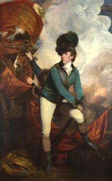 Sir Joshua Reynolds: 'Colonel Tarleton'