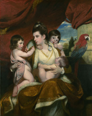 Sir Joshua Reynolds: 'Lady Cockburn and her Three Eldest Sons'