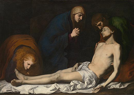 Jusepe de Ribera, The Lamentation over the Dead Christ