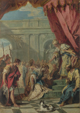 Sebastiano Ricci: 'Esther before Ahasuerus'