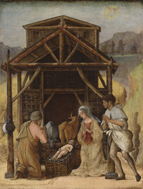 Ercole de' Roberti: 'The Nativity'.
