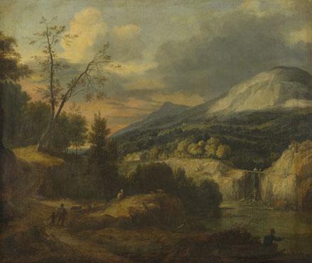 Roelant Roghman: 'A Mountainous Landscape'