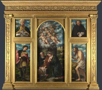 Girolamo Romanino: 'High Altarpiece, S. Alessandro, Brescia'