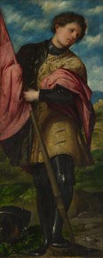 Girolamo Romanino: 'Saint Alexander'