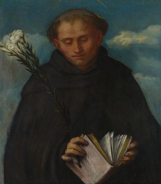 Girolamo Romanino: 'Saint Filippo Benizzi'