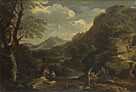 Mountainous Landscape with Figures