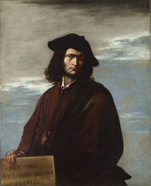 Salvator Rosa: 'Self Portrait'