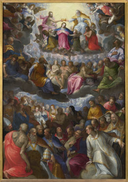 Johann Rottenhammer: 'The Coronation of the Virgin'
