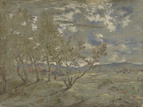 Théodore Rousseau: 'Landscape'