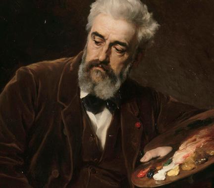 Portrait of Philippe Rousseau