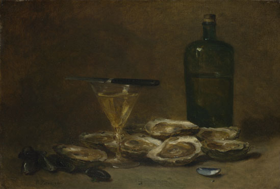 Philippe Rousseau: 'Still Life with Oysters'