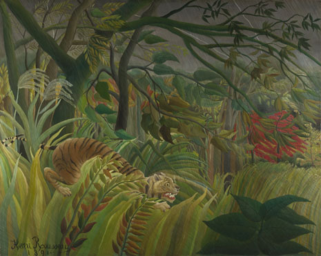Henri Rousseau: 'Surprised!'