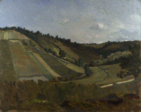 Philippe Rousseau: 'A Valley'