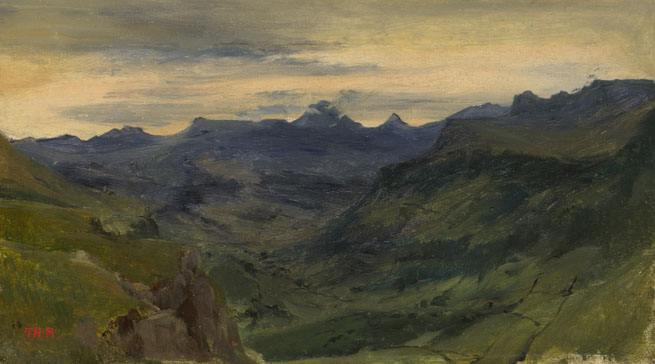 Théodore Rousseau: 'The Valley of St-Vincent'