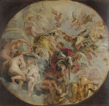 Peter Paul Rubens: 'The Apotheosis of the Duke of Buckingham'