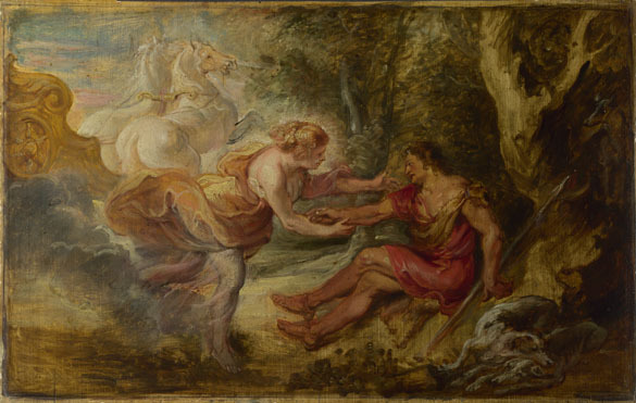 Peter Paul Rubens: 'Aurora abducting Cephalus'