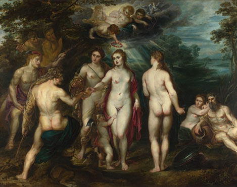 Peter Paul Rubens: 'The Judgement of Paris'