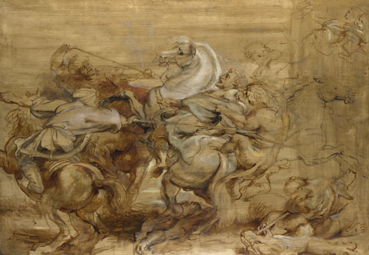 Peter Paul Rubens: 'A Lion Hunt'