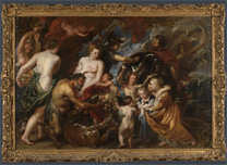 Rubens, Minerva protects Pax from Mars, 1629-30