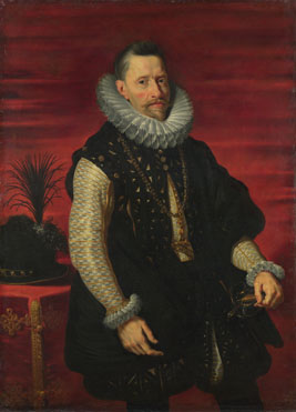 Attributed to the Studio of Peter Paul Rubens: 'Portrait of the Archduke Albert'