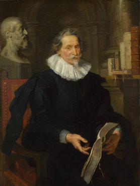 Peter Paul Rubens: 'Portrait of Ludovicus Nonnius'