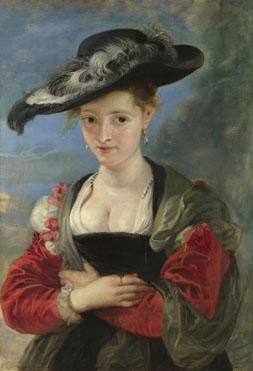Peter Paul Rubens: 'Portrait of Susanna Lunden(?) ('Le Chapeau de Paille')'