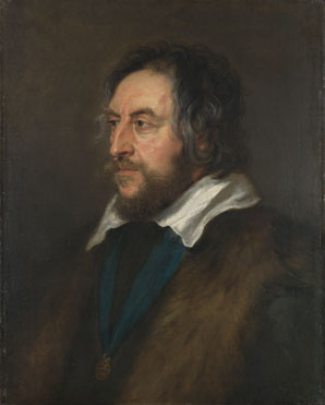 Peter Paul Rubens: 'Portrait of Thomas Howard, 2nd Earl of Arundel'