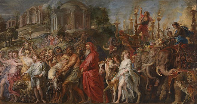 'A Roman Triumph' by Peter Paul Rubens