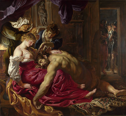 Peter Paul Rubens: 'Samson and Delilah'