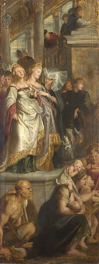 Peter Paul Rubens: 'Three Female Witnesses'