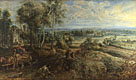 'An Autumn Landscape with a View of Het Steen'