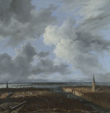 Jacob van Ruisdael: 'A Panoramic View of Amsterdam looking towards the IJ'