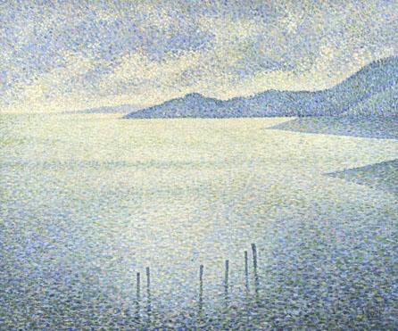Théo van Rysselberghe: 'Coastal Scene'