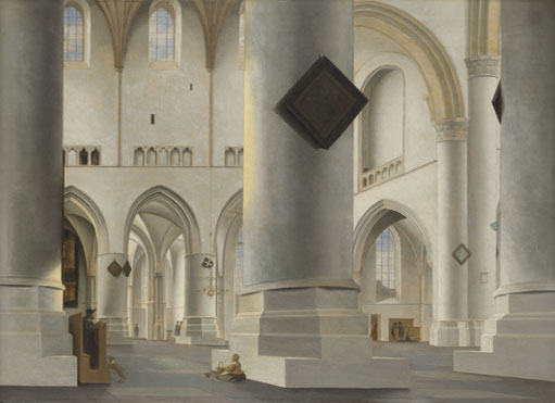 Pieter Saenredam: 'The Interior of the Grote Kerk at Haarlem'