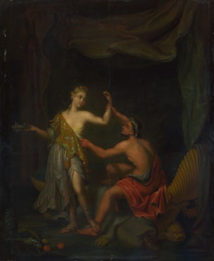 Philip van Santvoort: 'The Rape of Tamar by Amnon'