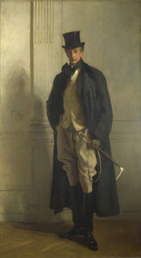 John Singer Sargent: 'Lord Ribblesdale'