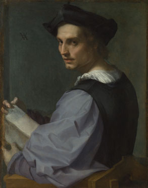 Andrea del Sarto: 'Portrait of a Young Man'