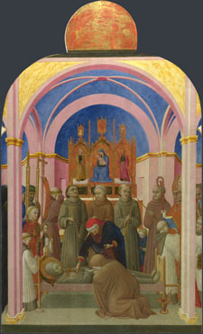 Sassetta: 'The Funeral of Saint Francis'