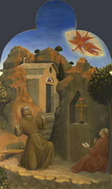 Sassetta: 'The Stigmatisation of Saint Francis'