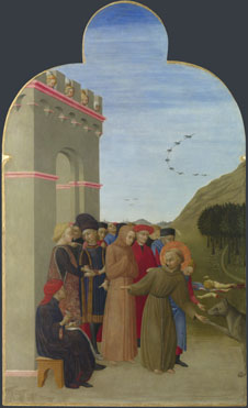 Sassetta: 'The Wolf of Gubbio'