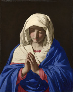 Sassoferrato: 'The Virgin in Prayer'