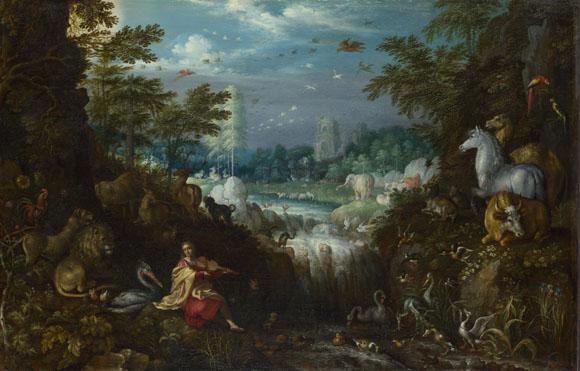 Roelandt Savery: 'Orpheus'