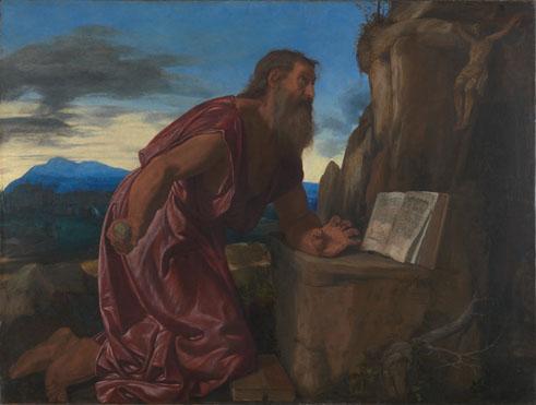 Giovanni Girolamo Savoldo: 'Saint Jerome'