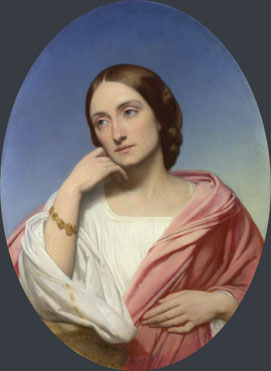 Ary Scheffer: 'Mrs Robert Hollond'